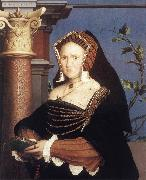 HOLBEIN, Hans the Younger Portrait of Lady Mary Guildford sf oil painting picture wholesale