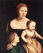 HOLBEIN, Hans the Younger The Artist's Family sf oil painting picture wholesale