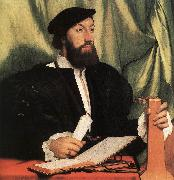 Unknown Gentleman with Music Books and Lute sf