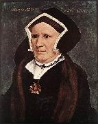 HOLBEIN, Hans the Younger Portrait of Lady Margaret Butts sg oil painting picture wholesale