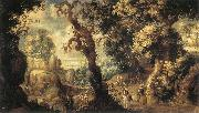 HONDECOETER, Gillis Claesz. d Baptism of the Moorish Chamberlain sg oil painting picture wholesale