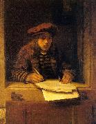 HOOGSTRATEN, Samuel van Self-Portrait zg oil painting