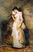 Hamilton Hamiltyon Woman with a Fan oil painting picture wholesale