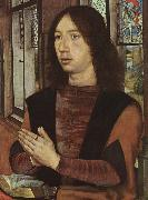 Hans Memling Portrait of Martin van Nieuwenhove oil painting picture wholesale