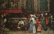 Hendrick Leys The Bird Catcher oil painting picture wholesale