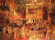 Henri Gervex The Coronation  of Nicholas II oil painting picture wholesale