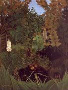 Henri Rousseau The Monkeys oil painting picture wholesale