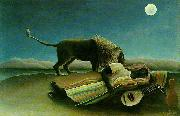 Henri Rousseau The Sleeping Gypsy oil painting picture wholesale