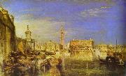 J.M.W. Turner Bridge of Signs, Ducal Palace and Custom- House, Venice Canaletti Painting oil painting picture wholesale
