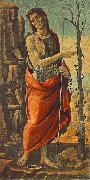JACOPO del SELLAIO St John the Baptist f oil painting