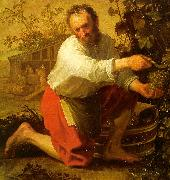 Jacob Gerritsz Cuyp The Grape Grower oil painting