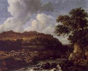 Jacob van Ruisdael The Great Forest oil painting