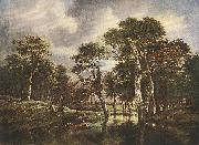 Jacob van Ruisdael The Hunt oil painting picture wholesale