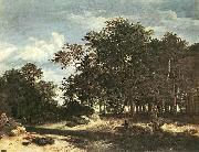 Jacob van Ruisdael The Large Forest oil painting picture wholesale