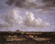 Jacob van Ruisdael Landscape with a View of Haarlem oil painting picture wholesale