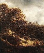 Jacob van Ruisdael The Castle at Bentheim oil painting picture wholesale