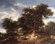 Jacob van Ruisdael The Great Oak oil painting picture wholesale