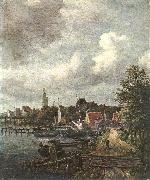 Jacob van Ruisdael View of Amsterdam oil painting picture wholesale