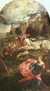 Jacopo Robusti Tintoretto St.George and the Dragon oil painting