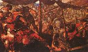 Jacopo Robusti Tintoretto Battle oil painting