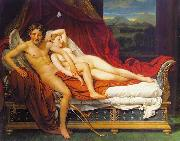 Jacques-Louis David Cupid and Psyche oil painting reproduction