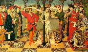 Jaime Huguet The Flagellation of Christ oil painting picture wholesale