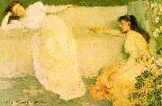 James Abbott McNeil Whistler Symphony in White 3 oil painting picture wholesale