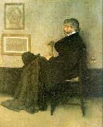 James Abbott McNeil Whistler Portrait of Thomas Carlyle oil painting reproduction