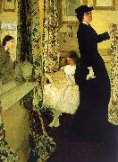 James Abbott McNeil Whistler Harmony in Green and Rose oil painting