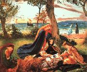 James Archer The Death of King Arthur oil painting