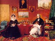 The Langford Family in their Drawing Room
