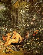 Jan Brueghel The Sense of Smell oil painting picture wholesale
