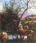Jan Siberechts The Ford oil painting picture wholesale