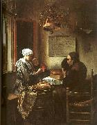 Jan Steen Grace Before a Meal oil painting