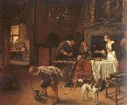 Jan Steen Easy Come, Easy Go oil painting