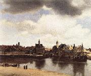 Jan Vermeer View of Delft oil painting picture wholesale