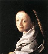 Jan Vermeer Portrait of a Young Woman oil painting picture wholesale