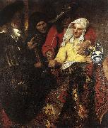 Jan Vermeer The Procuress oil painting picture wholesale