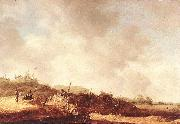Jan van Goyen Landscape with Dunes oil painting
