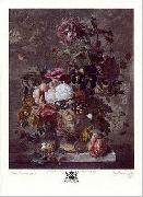 Jan van Huysum Still Life with Flower oil painting picture wholesale