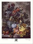 Jan van Huysum Still Life with Fruit and Flowers oil painting picture wholesale