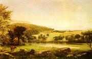 Jasper Cropsey Serenity oil painting reproduction