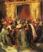 Jean - Baptiste Carpeaux Costume Ball at the Tuileries Palace oil painting
