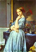Jean Auguste Dominique Ingres Portrait of Countess D'Haussonville. oil painting picture wholesale