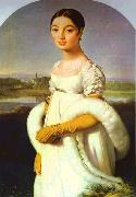 Jean Auguste Dominique Ingres Portrait of Mademoiselle Riviere. oil painting