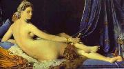Jean Auguste Dominique Ingres Le Grande Odalisque oil painting reproduction
