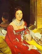 Jean Auguste Dominique Ingres Portrait of Madame de Senonnes. oil painting picture wholesale