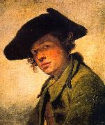 Jean Baptiste Greuze A Young Man in a Hat oil painting picture wholesale