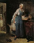 Jean Baptiste Simeon Chardin The Return from Market oil painting picture wholesale