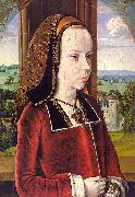 Jean Hey Portrait of Margaret of Austria oil painting picture wholesale